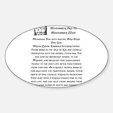 Xul Traits Sticker (Oval)