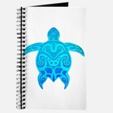 Blue Tribal Turtle Journal