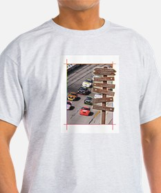 SC-1 Stock Car Racing Ash Grey T-Shirt