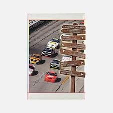 SC-1 Stock Car Racing Rectangle Magnet