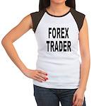 Forex Trader (Front) Women's Cap Sleeve T-Shirt