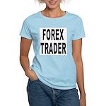 Forex Trader (Front) Women's Pink T-Shirt