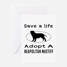 Adopt A Neapolitan Mastiff Dog Greeting Card