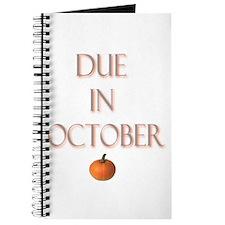 Due in October Journal