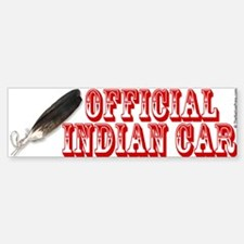 Official Indian Car Bumper Bumper Bumper Sticker