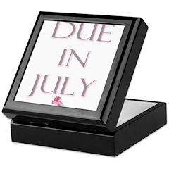 Due in July Keepsake Box