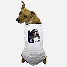 Bluetick Coonhound Love Dog T-Shirt