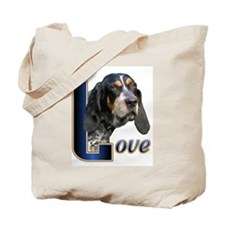 Bluetick Coonhound Love Tote Bag