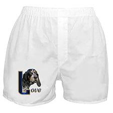 Bluetick Coonhound Love Boxer Shorts