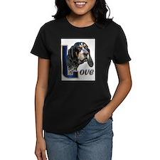 Bluetick Coonhound Love Tee