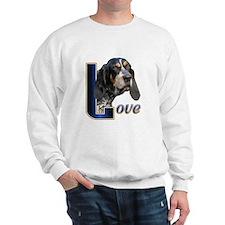 Bluetick Coonhound Love Sweatshirt