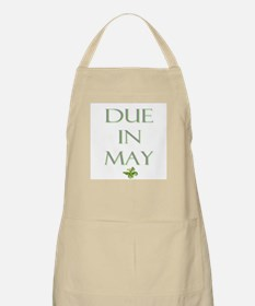 Due in May BBQ Apron