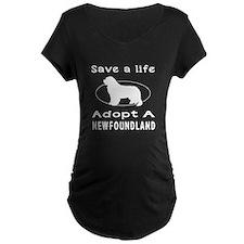 Adopt A Newfoundland Dog T-Shirt