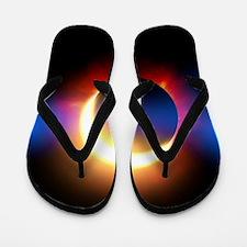 Solar Eclipse Flip Flops