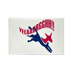 KICKING AND SCREAMING Rectangle Magnet