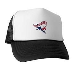 KICKING AND SCREAMING Trucker Hat