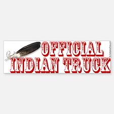 Official Indian Truck Bumper Bumper Bumper Sticker