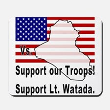 Support Lt. Watada! Mousepad