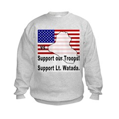 Support Lt. Watada! Sweatshirt