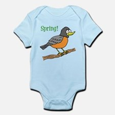 Spring Robin Body Suit