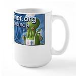 Anime Style Mediaminer.org Large Mug
