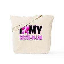 I Love My Sister in Law Tote Bag