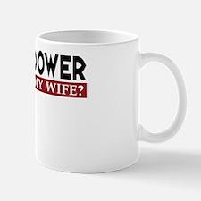 Caching Widower - Wife Version Mug