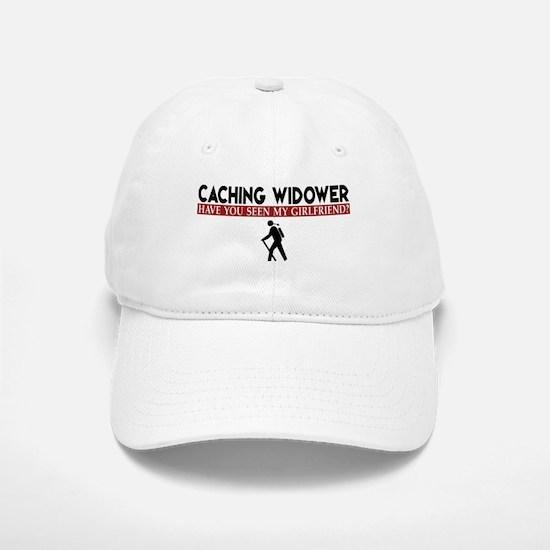 Caching Widower - Girlfriend Version Baseball Baseball Cap