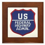 Highway Administration Framed Tile