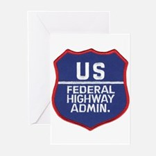 Highway Administration Greeting Cards (Package of