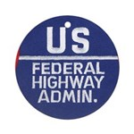 Highway Administration Ornament (Round)