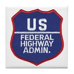Highway Administration Tile Coaster