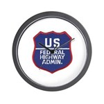 Highway Administration Wall Clock