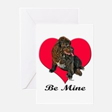 My Newfie Valentine Greeting Cards (Pk of 10)