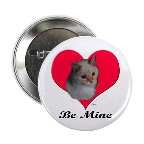 """Kekoe the cat's Valentine 2.25"""" Button (10 pack)"""