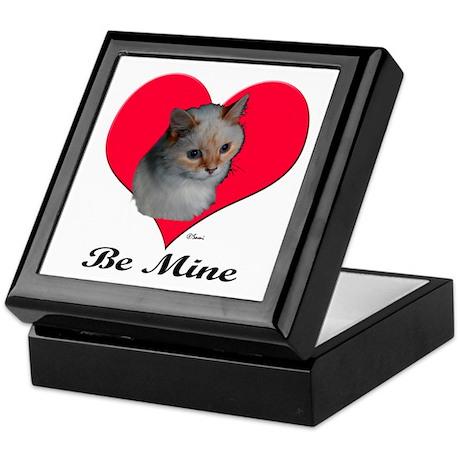 Kekoe the cat's Valentine Keepsake Box