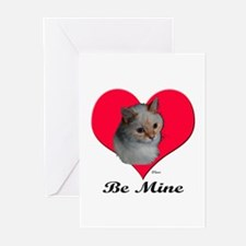 Kekoe the cat's Valentine Greeting Cards (Package