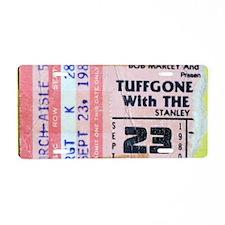 TUFFGONE Aluminum License Plate