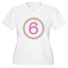 Number 6 Sherbert T-Shirt