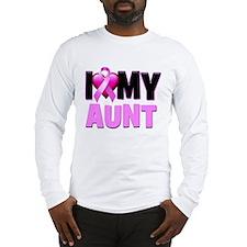I Love My Aunt Long Sleeve T-Shirt
