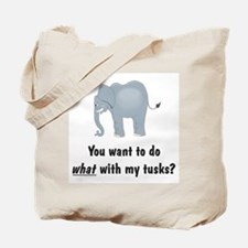 Elephant Tusks - Tote Bag