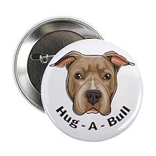 "Hug-A-Bull 1 2.25"" Button (100 pack)"