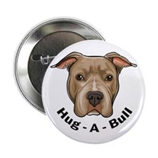 "Hug-A-Bull 1 2.25"" Button (10 pack)"