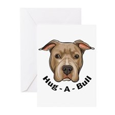 Hug-A-Bull 1 Greeting Cards (Pk of 10)