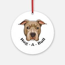Hug-A-Bull 1 Ornament (Round)