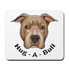 Hug-A-Bull 1 Mousepad