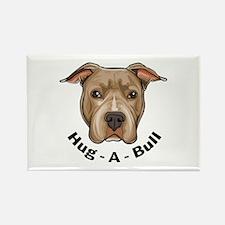 Hug-A-Bull 1 Rectangle Magnet (10 pack)
