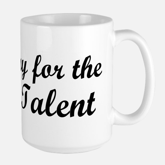 Radio Talent Large Mug