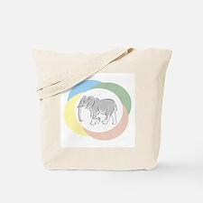 Elephant Pastel - Tote Bag