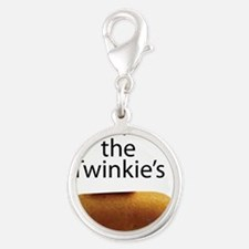 Save The Twinkie's Silver Round Charm